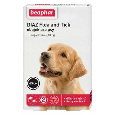 Antiparazitný obojok pre psov 65 cm