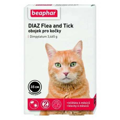 Obojok antiparazitný pre mačky