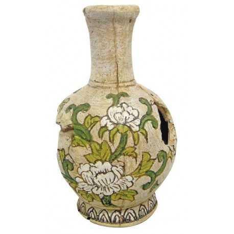 Váza s kvetmi 9,7x9,7x16cm