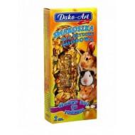 DAKO - ART Tyčinky pre hlodavce - medové 2ks