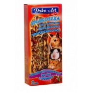 DAKO - ART Tyčinky pre hlodavce - malinovo- jahodové 2ks