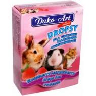 DAKO - ART Dropsy pre hlodavce malinovo-jahodové 75g