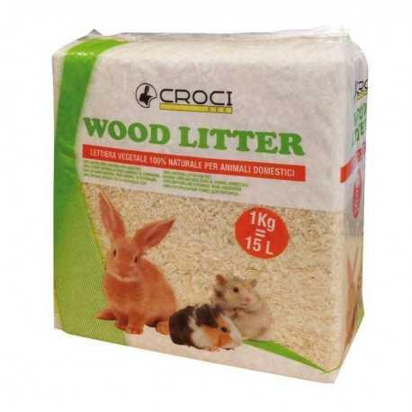 Wood Litter hobliny 1kg/15l