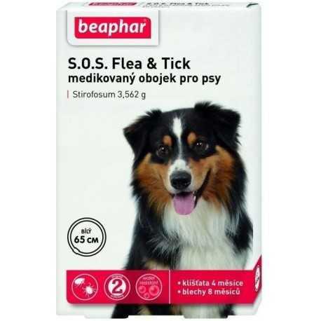 Obojok antiparazitný pre psov SOS 65cm