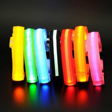 LED obojok pre psov s USB